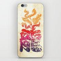 Dragon Flame  iPhone & iPod Skin