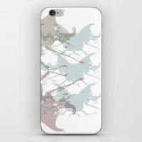 Scarabs Faded iPhone & iPod Skin