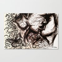 About the Chaos Theory and The Butterfly Effect  Canvas Print