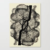 TREE/ROOTS Canvas Print