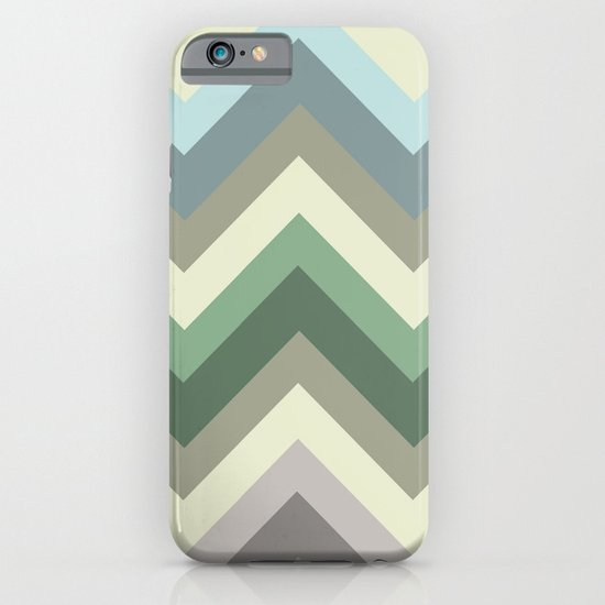 pastel chevron iPhone & iPod Case