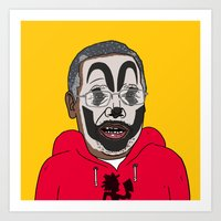 Carson, Juggalo Art Print