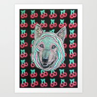 The Power Wolf Parties W… Art Print