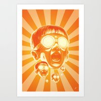 Big Fireee! Art Print