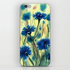 Cornflowers iPhone & iPod Skin