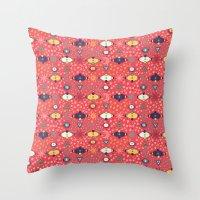 Cosmos Pattern Throw Pillow