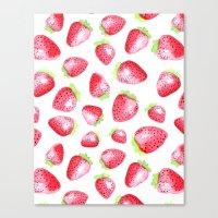 Summer Berries Canvas Print