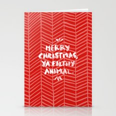 Merry Christmas, Ya Filt… Stationery Cards