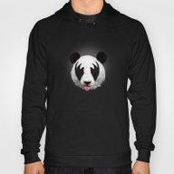 Kiss Of A Panda Hoody