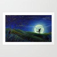 Huckleberry Finn Art Print