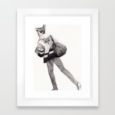 Mailman of the Gods Framed Art Print
