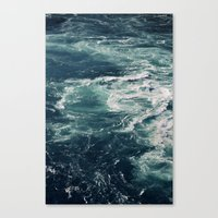 Whirling Canvas Print