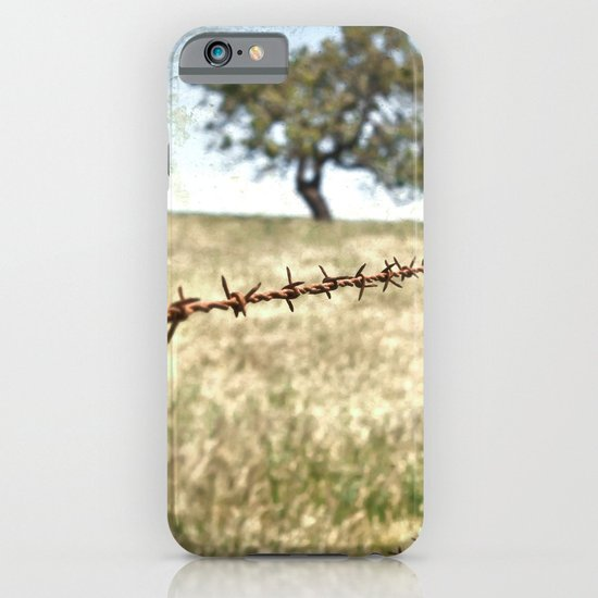 Tree Behind Fence iPhone & iPod Case