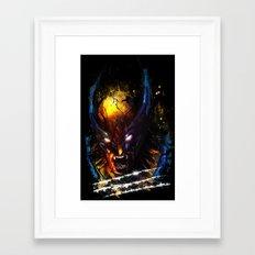 The Wolverine Framed Art Print