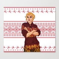 Very Merry Sera Canvas Print