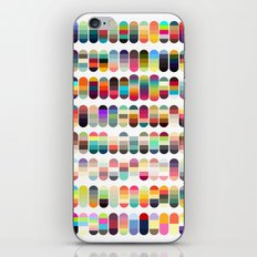 Palette color 100 iPhone & iPod Skin