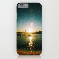 Williamsburg Bridge at Sunset iPhone 6 Slim Case