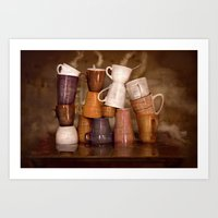 Cafehouse (without windows) Art Print