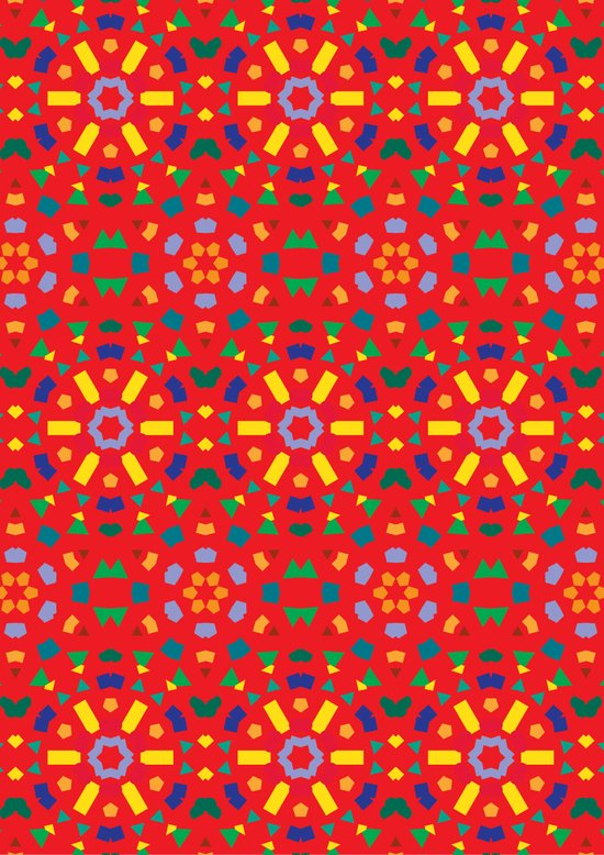 Kaleidoscope Number 1 Art Print