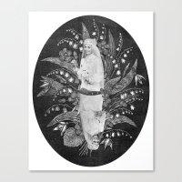 Mariées. Canvas Print