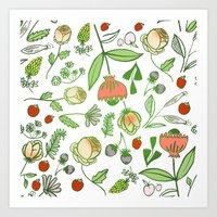Spring Bouquet Art Print