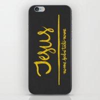 Jesus - Nome Sobre Todo … iPhone & iPod Skin