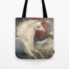 Licorne in Technicolor Tote Bag