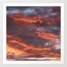 The Sun Will Set Art Print