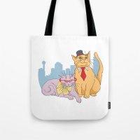 Calgary Cats Tote Bag