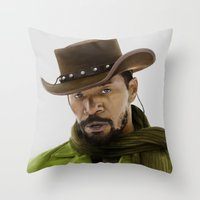 Django Unchained Throw Pillow