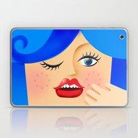 Lola Blue Laptop & iPad Skin
