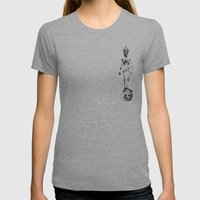 The King Womens Fitted Tee Athletic Grey SMALL