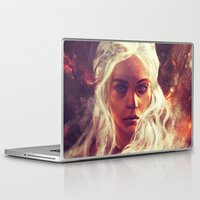 dragon Laptop & iPad Skins featuring Fireheart by Alice X. Zhang