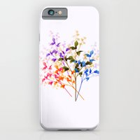 iPhone & iPod Case featuring Itty Bitty Flowers by Sreetama Ray