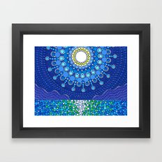 Full Moon Splendour Framed Art Print
