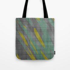 Yellow Gray and Green Tote Bag