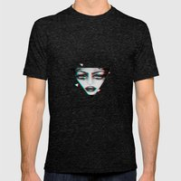 dimensional snap Mens Fitted Tee Tri-Black SMALL
