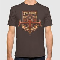 Just a Humble Bounty Hunter Mens Fitted Tee Brown SMALL