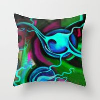 Brain Scam Throw Pillow