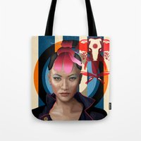 Queen Of Darkness Far Cr… Tote Bag