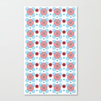 Dots Bubbles  Canvas Print