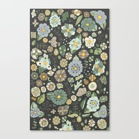 Chocolate Con Menta Canvas Print