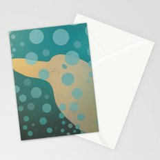 Dolphin underwater! Stationery Cards