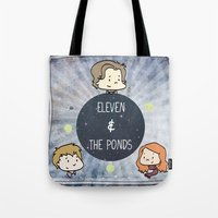 Doctor Who: Eleven And T… Tote Bag