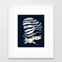 Sarah Unraveled Framed Art Print