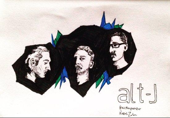 Alt-J Art Print