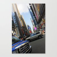 New York City Time Square NYC Canvas Print