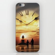 Until The End Of Time iPhone & iPod Skin