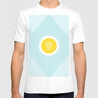 When In Doubt, Keep It S… Mens Fitted Tee White SMALL