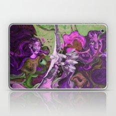 Freedom purple Laptop & iPad Skin